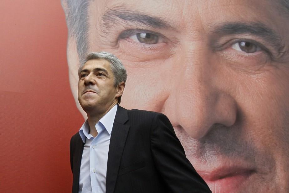 Le premier ministre socialiste José Socrates... (Photo AP)