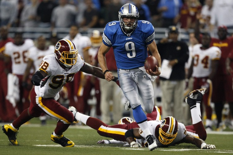 Finalement, une victoire: les Lions de Detroit, menés par... (Photo: Reuters)