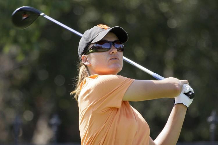 Sophie Gustafson a finalement remporté un autre tournoi sur le... (Photo: AP)