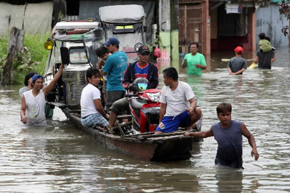 La désolation règne dans certains quartiers de Manille,... (Photo Reuters)