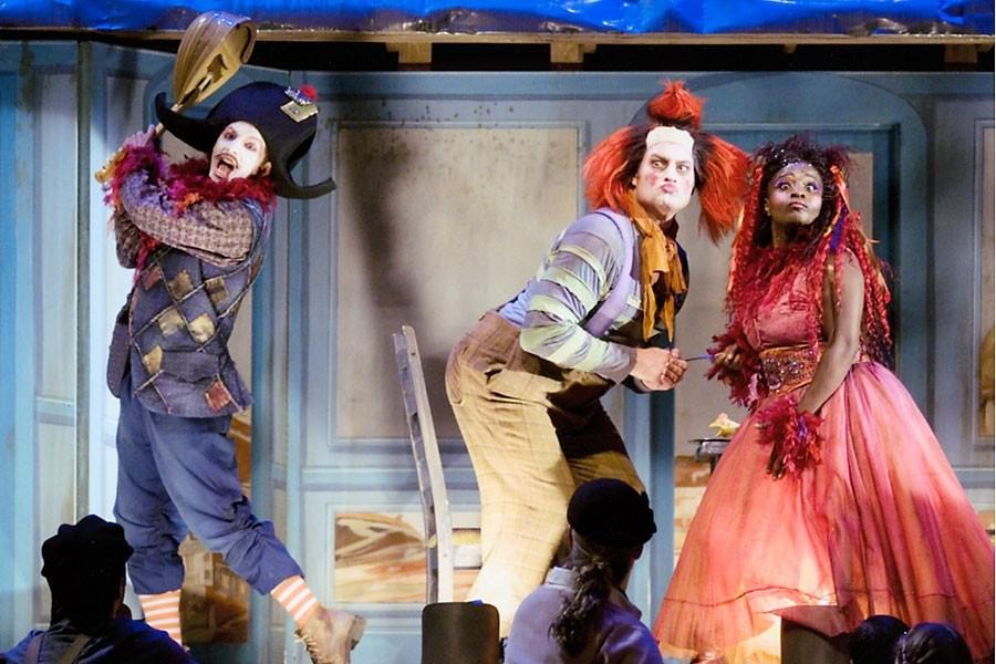 Pagliacci, le spectacle de commedia dell'arte présenté par... (Photo: Opéra de Montréal)
