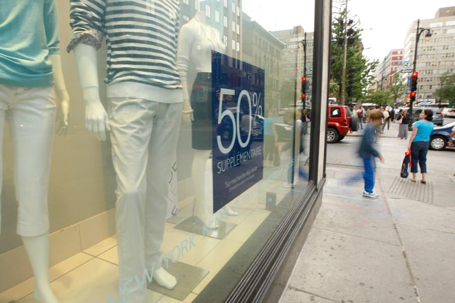 La proximité des services, tels que les magasins,... (Photo: Martin Chamberland, Archives La Presse)