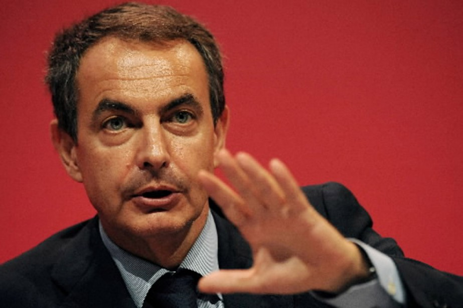 Le premier ministre espagnol José Luis Zapatero ne... (Photo AFP)