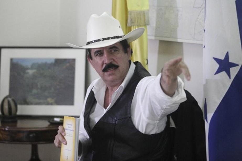 Le président déchu Manuel Zelaya est réfugié à... (Photo Reuters)