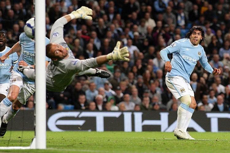 Manchester City a remporté une victoire de 3-1... (Photo: AP)