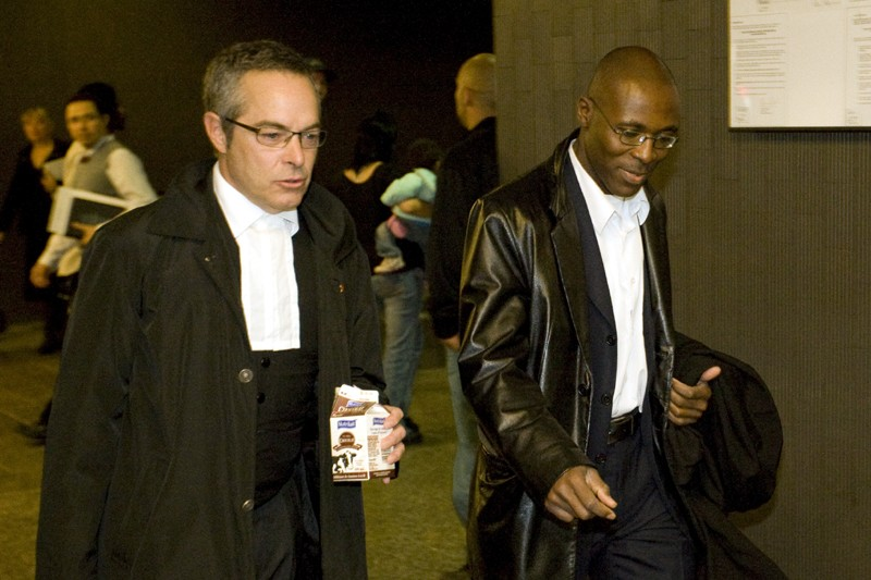 Serge Beugré, ex-directeur général adjoint de Norbourg.... (Photo Ivanoh Demers, La Presse)