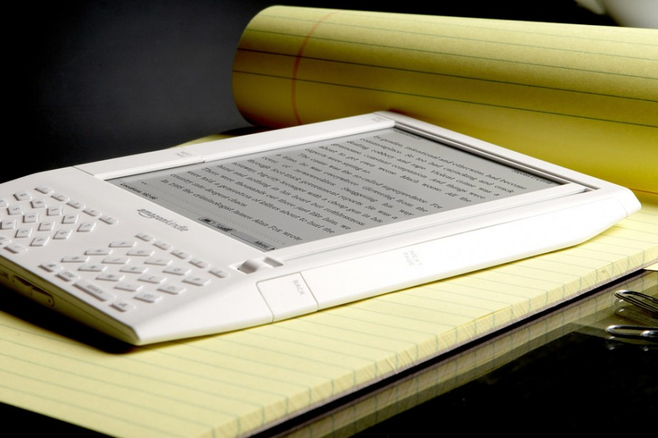 Le Kindle... (Photo: Bloomberg News)