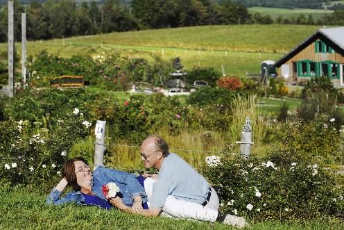 «Mon chum ne m'a jamais offert de roses.... (Photo: Jocelyn Riendeau, La Tribune)