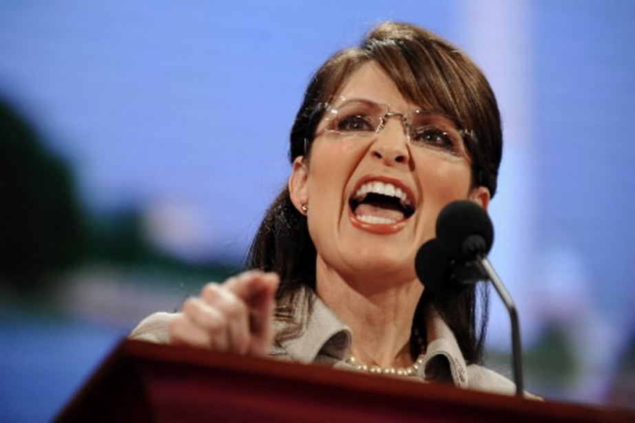 Sarah Palin... (Photo AFP)