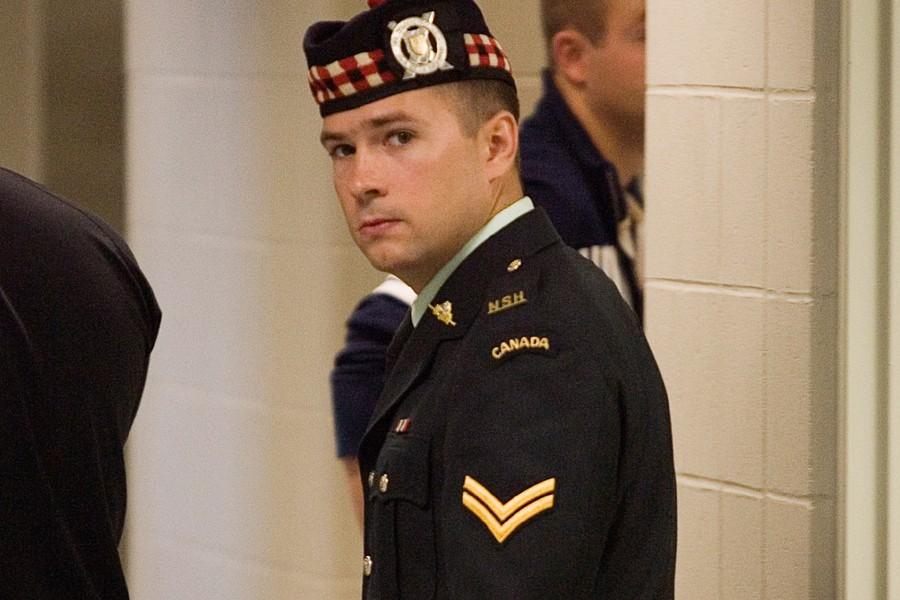 Le soldat canadien Matthew Wilcox.... (Photo: Archives PC)
