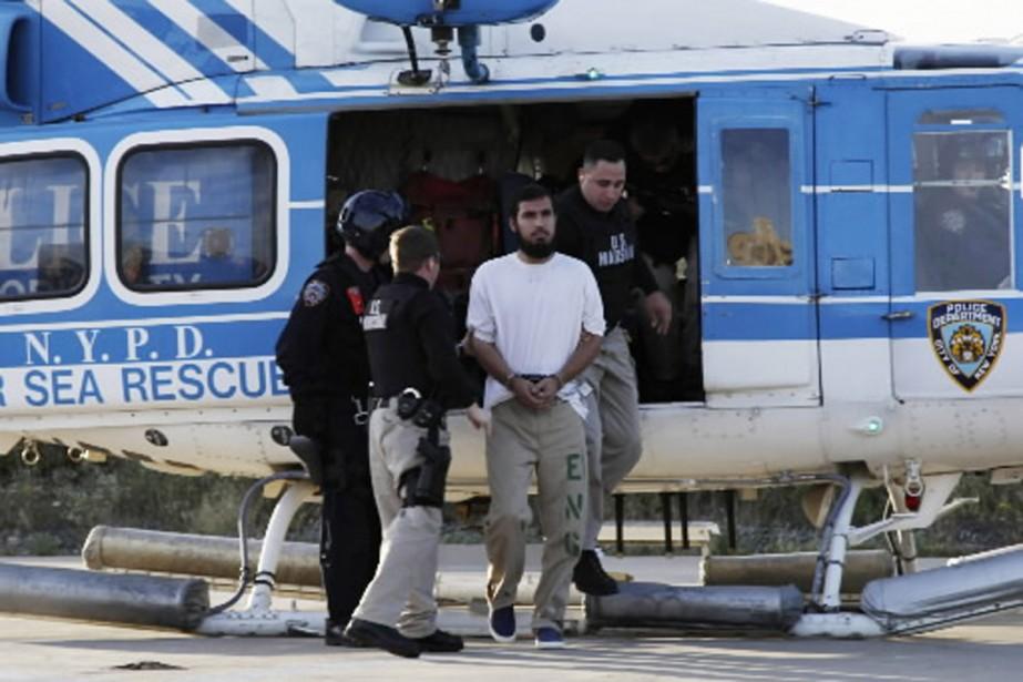 Najibullah Zazi a été transféré par avion entre... (Photo Reuters)