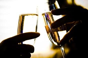Des verres de champagne... (Photo: Photothèque La Presse)