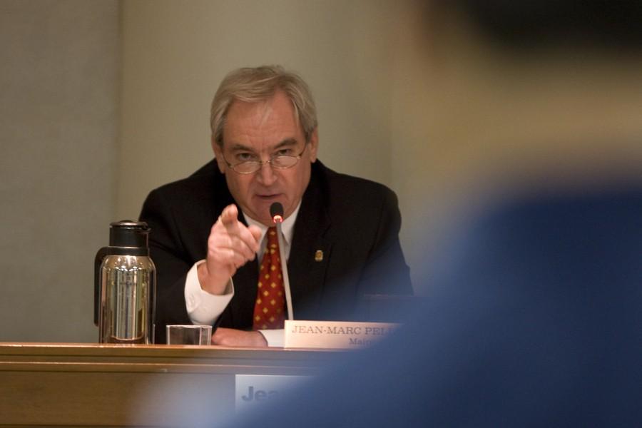 Le maire de Brossard, Jean-Marc Pelletier.... (Photo: André Pichette, La Presse)
