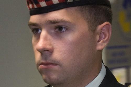 Le soldat canadien Matthew Wilcox.... (Photo: PC)