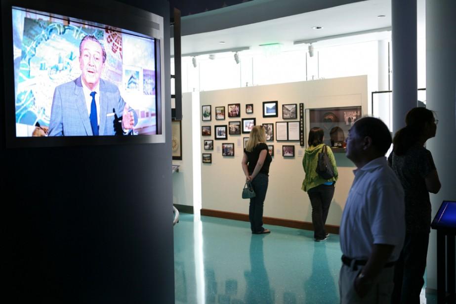 L'intérieur du musée Disney de San Francisco.... (Photo: AFP)