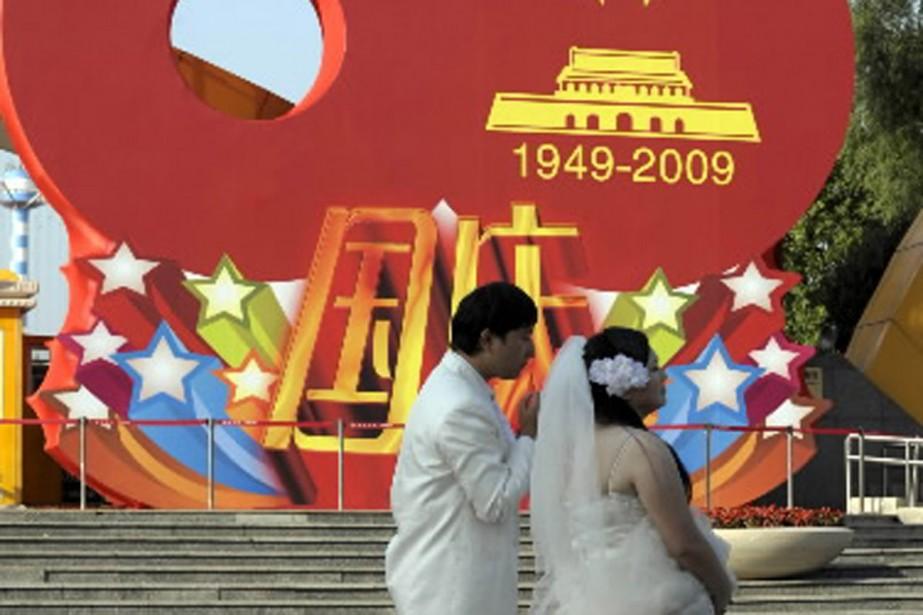 Plusieurs couples profiteront des festivités du 60e anniversaire... (Photo AFP)