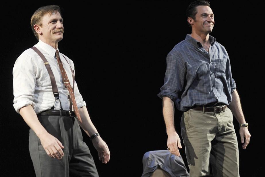 Daniel Craig et Hugh Jackman dans A Steady... (Photo: AP)