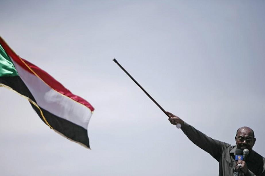 Le président Omar el-Béchir, lors d'un discours en... (Photo archives Reuters)