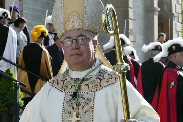 L'ex-évêque du diocèse d'Antigonish, en Nouvelle-Écosse, Mgr Raymond... (Photo: PC)