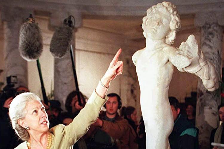 L'attribution de la sculpture à Michel-Ange remonte à... (Photo: AFP)