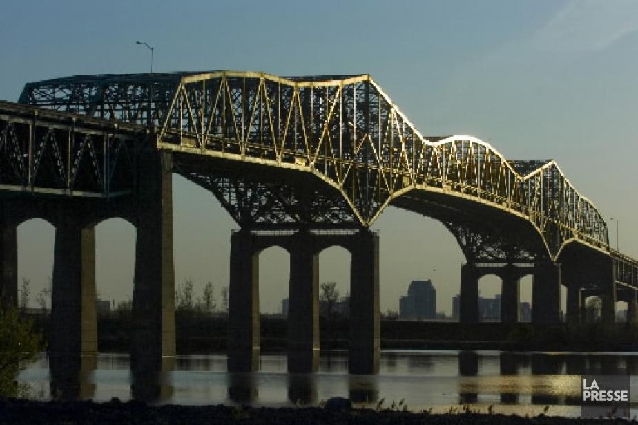 Le pont Champlain, entre Montréal et Brossard.... (Photo Martin Chamberland, archives La Presse)