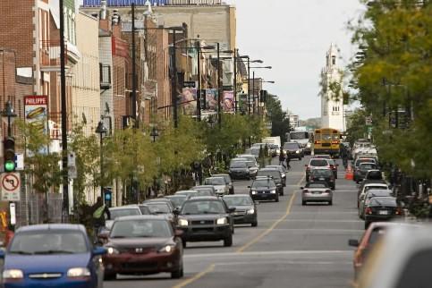 La rue Amherst traverse le quartier Centre-Sud de... (Photo David Boily, La Presse)