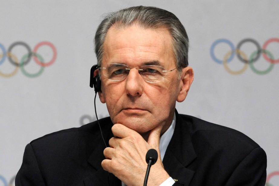 Le président du CIO, Jacques Rogge... (Photo: AP)