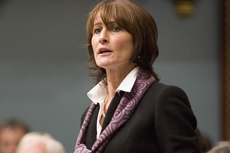 La ministre de la Justice, Kathleen Weil.... (Photo: PC)
