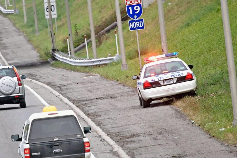 La police de Montréal a demandé au ministère... (Photo Patrick Sanfaçon, La Presse)