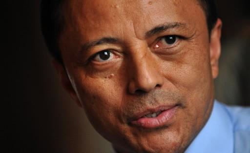 Le président évincé de Madagascar, Marc Ravalomanana.... (Photo AFP)