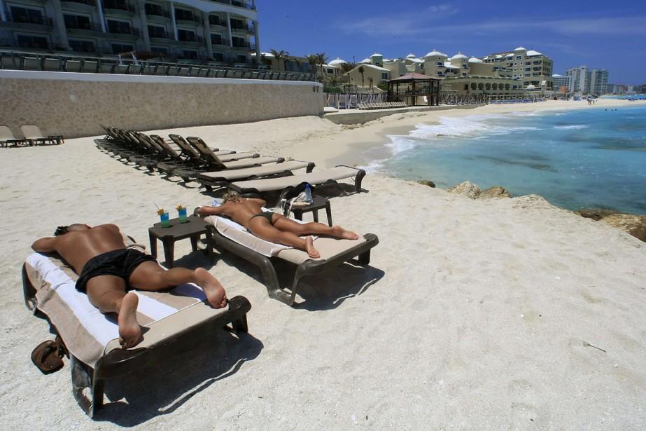 La Riviera Maya change à une allure folle,... (Photo: AFP)