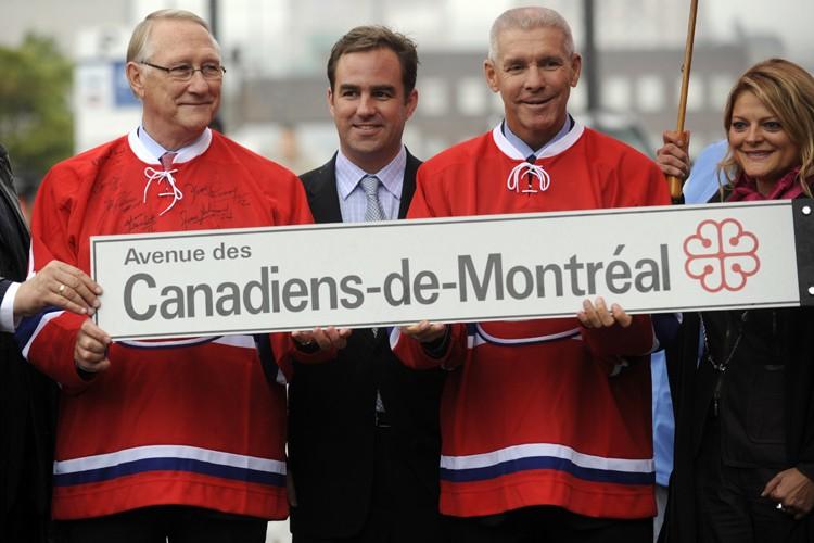 Le maire de Montréal, Gérald Tremblay, le propriétaire... (Photo: Bernard Brault, La Presse)