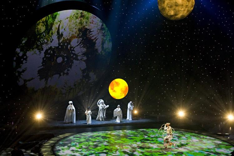 Intitulé «De la Terre aux étoiles pour l'eau»,... (Photo: François Roy, La Presse)