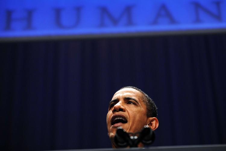 Barack Obama s'est engagé à lever l'interdiction faite aux... (Photo: AFP)