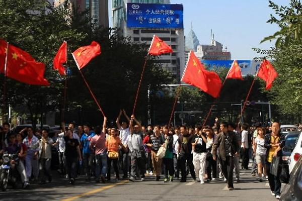 Les émeutes d'Urumqi avaient fait 200 morts.... (Photo: AFP)