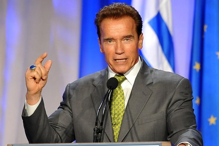 Arnold Schwarzenegger... (Photo: AFP)