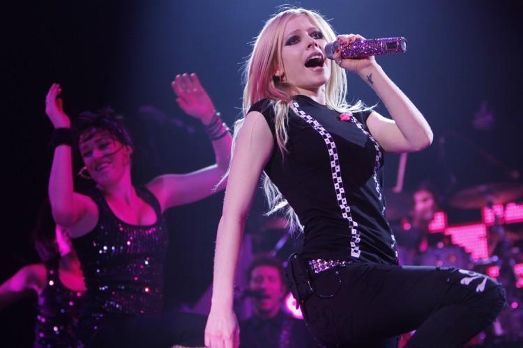 Avril Lavigne... (Photo: Martin Chamberland, La Presse)