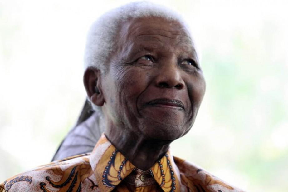 Nelson Mandela est maintenant âgé de 91 ans.... (Photo AFP)