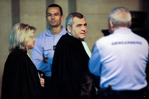 L'avocat de Nicolas Sarkozy, Thierry Herzog.... (Photo AFP)