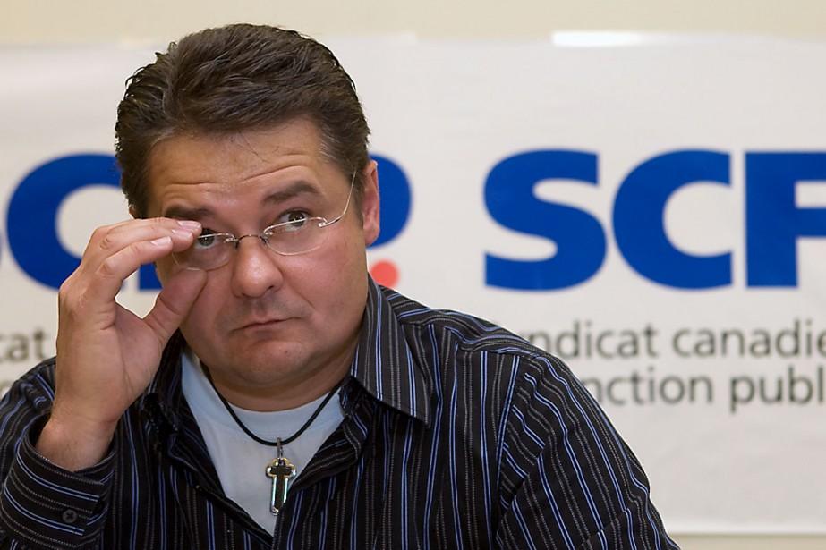 Michel Parent, président des cols bleus regroupés de... (Photo: Robert Skinner, La Presse)