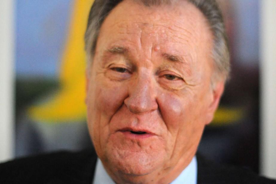 Albert Uderzo... (Photo: AFP)