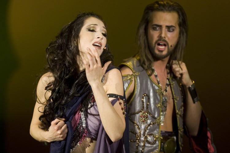 Rita Tabbakh et Philippe Berghella dans la comédie... (Photo: André Pichette, La Presse)