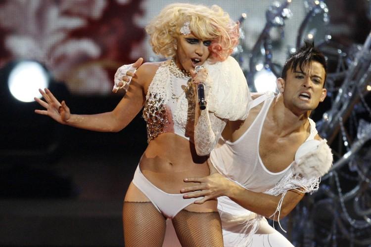 Lady Gaga... (Photo: Reuters)