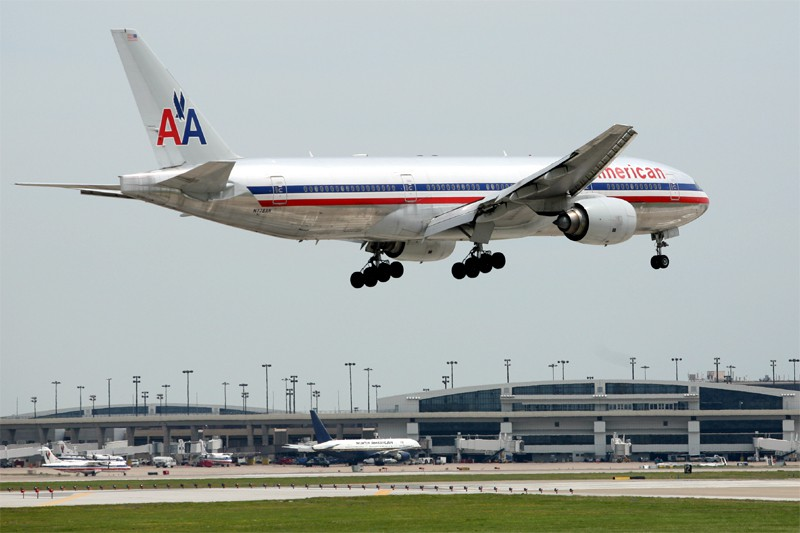 Le transporteur American Airlines ( (Photo Bloomberg News)