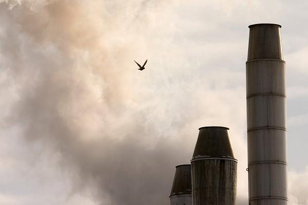 La hausse continue des émissions de gaz à... (Photo: Alain Roberge, Archives La Presse)
