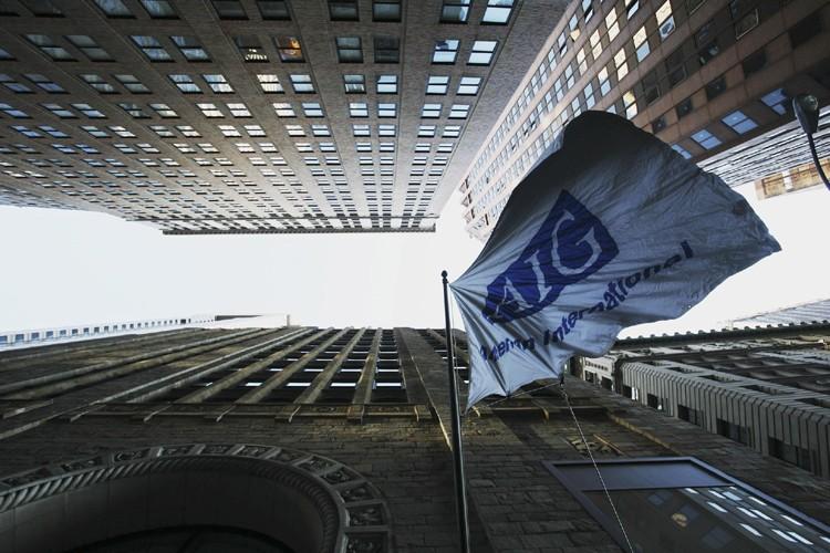 L'assureur AIG est l'une des sept firmes qui... (Photo: AP)