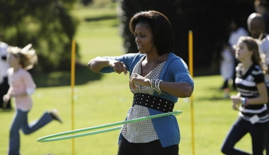 michelle  u00abhula hoop u00bb obama