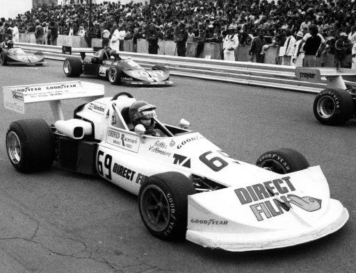 Gilles Villeneuve au volant de sa Formule Atlantique en 1976. | 1 mars 2011