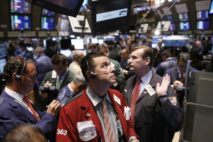 Les actions du conglomérat General Electric, de Bank of... (Photo: Reuters)