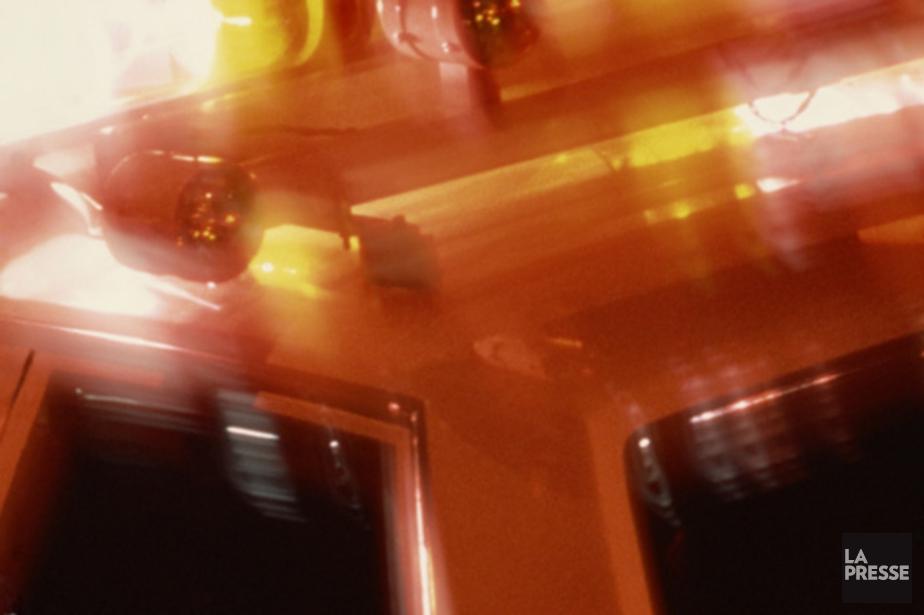Un accident de la route impliquant deux véhicules a... (PHOTOTHÈQUE LA PRESSE)